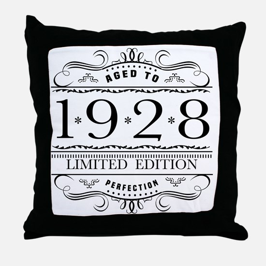 Cool 90th birthday Throw Pillow