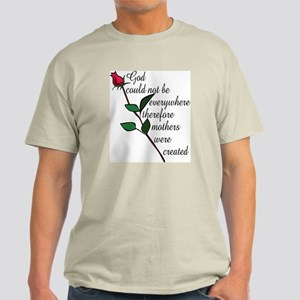 Mother's Day Flower Ash Grey T-Shirt