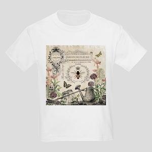 Modern Vintage French Bee Garden T-Shirt