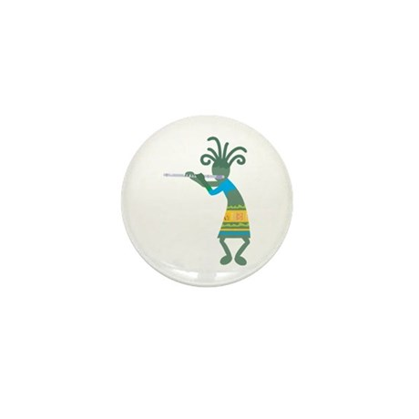 Kokopelli 11 Mini Button (10 pack)