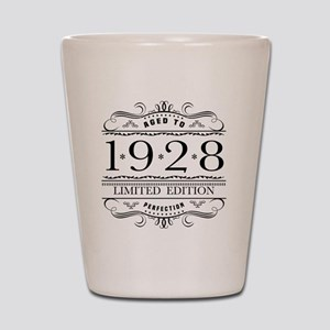 1928 Classic Birthday Shot Glass