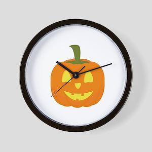 Classic light Halloween Pumpkin Wall Clock