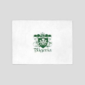 I rep Nigeria 5'x7'Area Rug