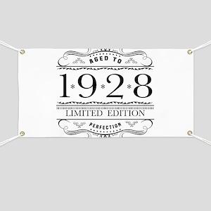 1928 Classic Birthday Banner