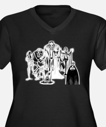 Classic movie monsters Plus Size T-Shirt