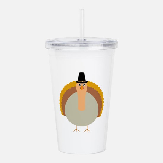 Thanksgiving Carrot wi Acrylic Double-wall Tumbler