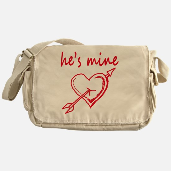 Unique Hes mine Messenger Bag