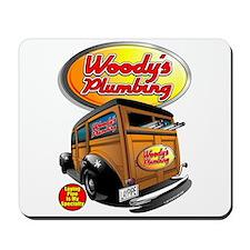 Woody's Plumbing @ eShirtLabs Mousepad