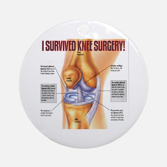 Knee Surgery Gift 1 Ornament (Round)