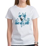 Shower with a Soldier Women's T-Shirt