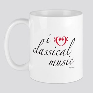i love classical music Mug