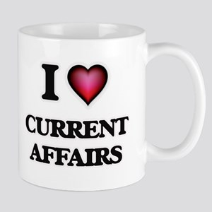 I love Current Affairs Mugs