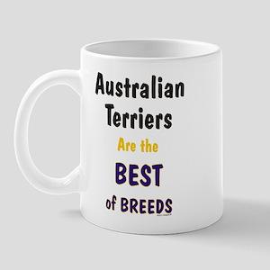 Australian Terrier Dog Best Of Breeds Mug