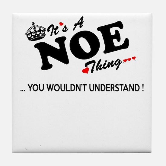 Funny Noe Tile Coaster
