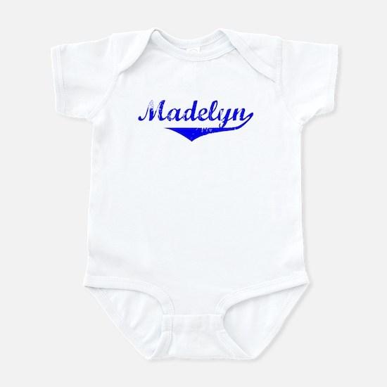 Madelyn Vintage (Blue) Infant Bodysuit
