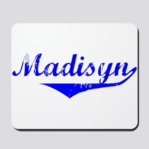Madisyn Vintage (Blue) Mousepad
