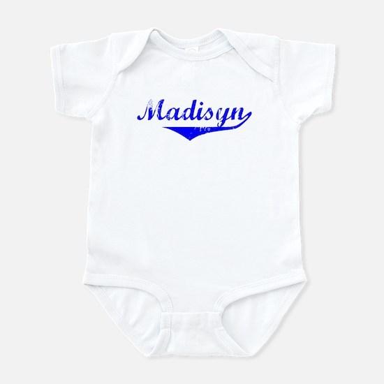 Madisyn Vintage (Blue) Infant Bodysuit