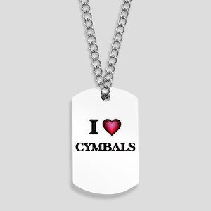 I love Cymbals Dog Tags