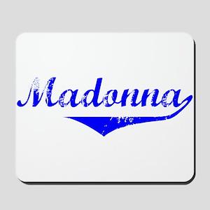 Madonna Vintage (Blue) Mousepad