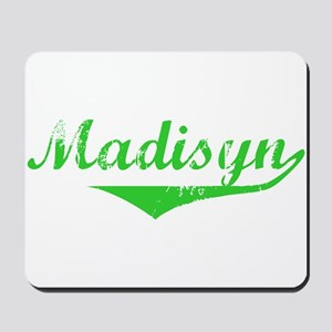 Madisyn Vintage (Green) Mousepad