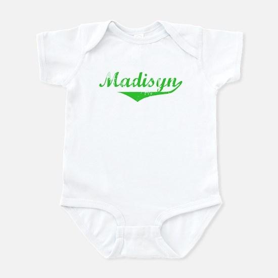 Madisyn Vintage (Green) Infant Bodysuit