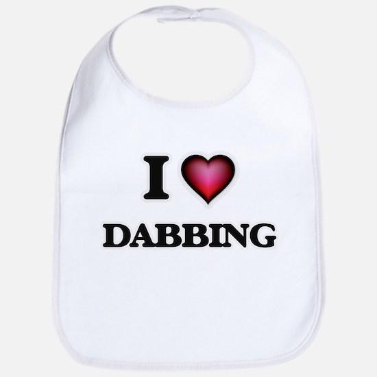 I love Dabbing Bib