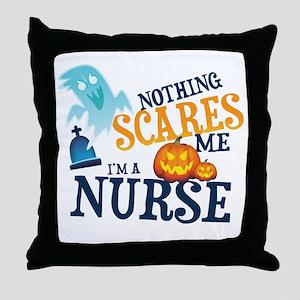 Nurse Halloween Throw Pillow