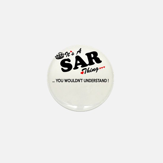 Unique Sar Mini Button