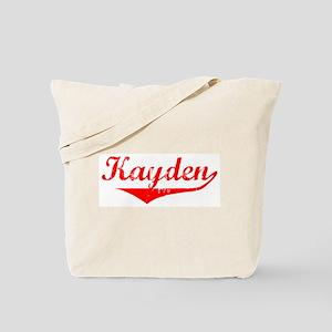 Kayden Vintage (Red) Tote Bag