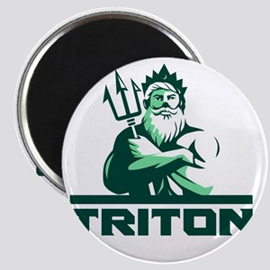 Triton Arms Crossed Trident Front Retro Magnets
