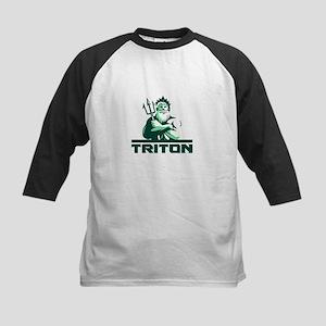 Triton Arms Crossed Trident Front Retro Baseball J