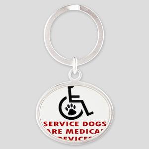SERVICE DOG DEVICE Keychains