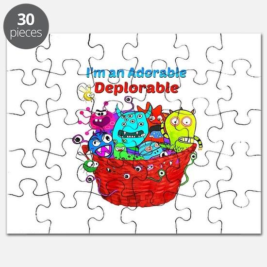 Adorable Deplorables in Trump Basket of Dep Puzzle