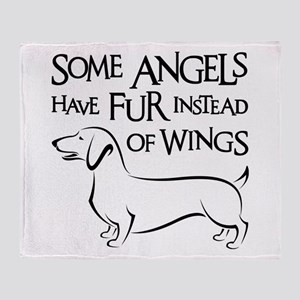 DOXIE ANGEL Throw Blanket