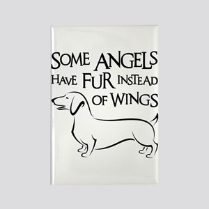 DOXIE ANGEL Rectangle Magnet