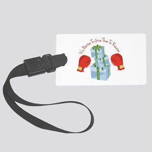 Better To Give Luggage Tag