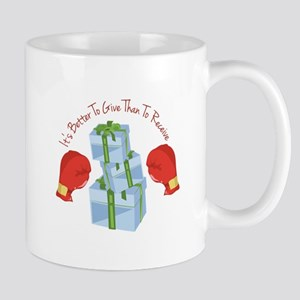 Better To Give Mugs