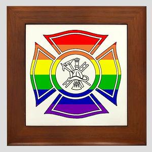Fire Pride Framed Tile