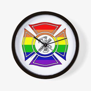 Fire Pride Wall Clock