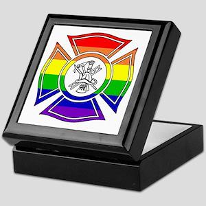 Fire Pride Keepsake Box