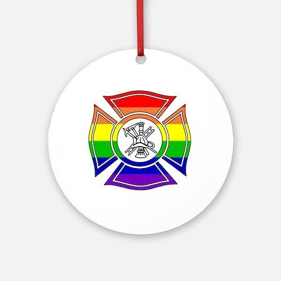 Fire Pride Ornament (Round)