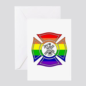 Fire Pride Greeting Card