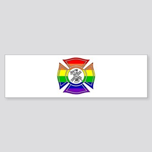 Fire Pride Bumper Sticker