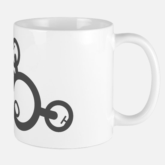 Grey Logo Mug