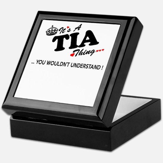 Cute Tia Keepsake Box