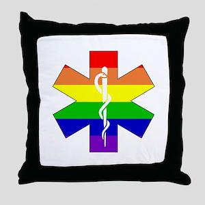 EMS Pride Throw Pillow