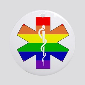 EMS Pride Ornament (Round)