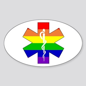 EMS Pride Oval Sticker