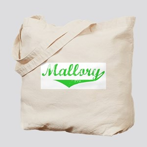 Mallory Vintage (Green) Tote Bag