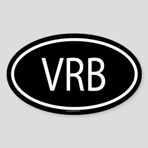 VRB Oval Sticker